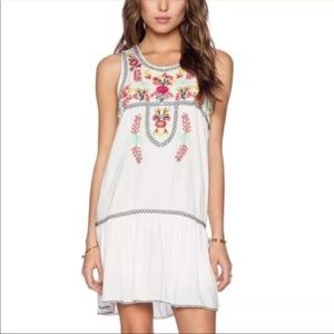 Lovers + Friends Embroidered Dress